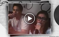 Liza, Enrique look so cool rapping an Eminem classic