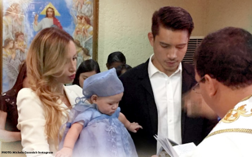 A look at Baby MJ's christening!