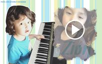 Baby Zion does a cute rendition of 'Fly Me To The Moon'