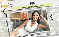 Pia, may balak mag-car racing?