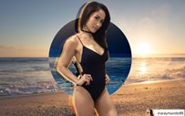 Ina Raymundo proves she's forever sexy with one-piece swimsuit