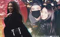 Nadine reflects on first anniversary of relationship with James