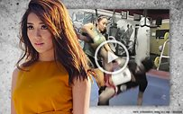 Kathryn does an intense Muay Thai session!