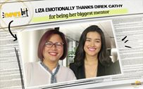 Liza emotionally thanks Direk Cathy for being her biggest mentor