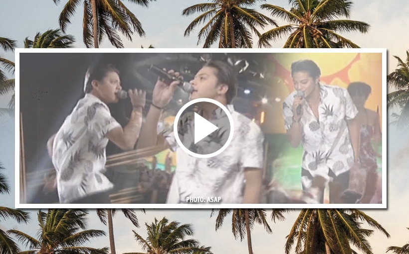 Daniel brings the summer heat on the 'ASAP' stage