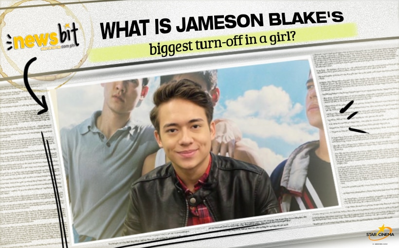 What is Jameson Blake's biggest turn-off in a girl?