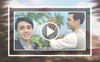 Here's an adorable video of Edward and Tanner that will make your day!