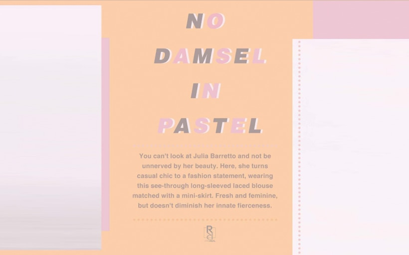 Julia Barretto is a revelation and a revolution in pink