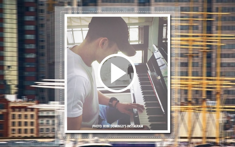 You won't help but fall in love with Robi Domingo in his piano cover