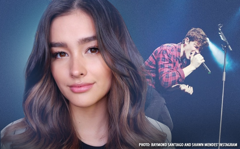 Liza Soberano spotted at Shawn Mendes concert!