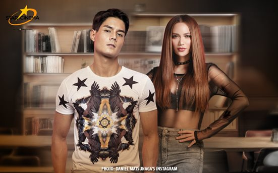 No, there's no romance between Arci Munoz and Daniel Matsunaga