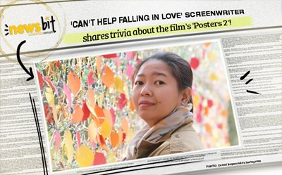 'Can't Help Falling In Love' screenwriter shares trivia about the film's 'Posters 2'!