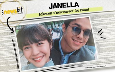 Janella takes on a 'new career' for Elmo?