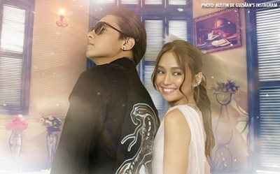Kathryn, Daniel give us the look of love