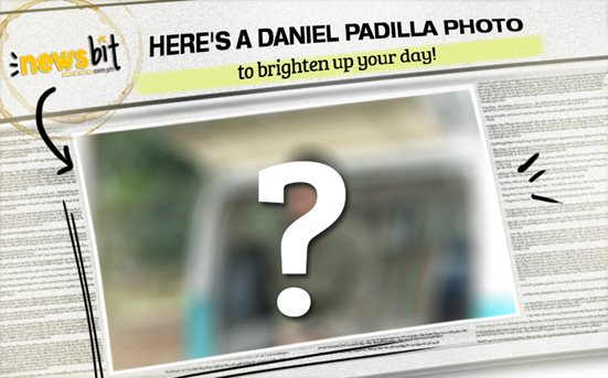 Here's a Daniel Padilla photo to brighten up your day!