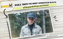 Khalil takes the most gorgeous shots of his pals Kathryn and Daniel