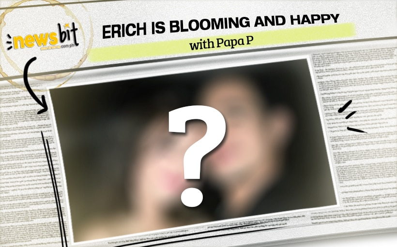 Erich is blooming and happy with Papa P