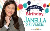 Super pink salubong for super Janella's birthday!
