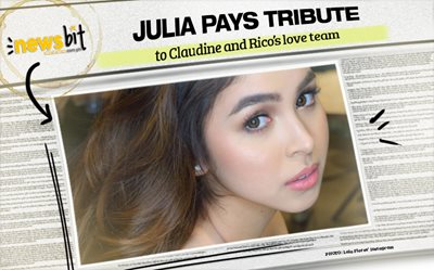 Julia pays tribute to Claudine and Rico's love team