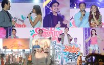 IN PHOTOS: Premiere stars, love teams bring sunshine to the ABS-CBN Trade Launch