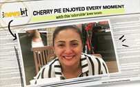 Cherry Pie enjoyed every moment with this 'adorable' love team