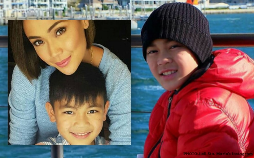 Jodi talks about a 'milestone' in son Thirdy's life