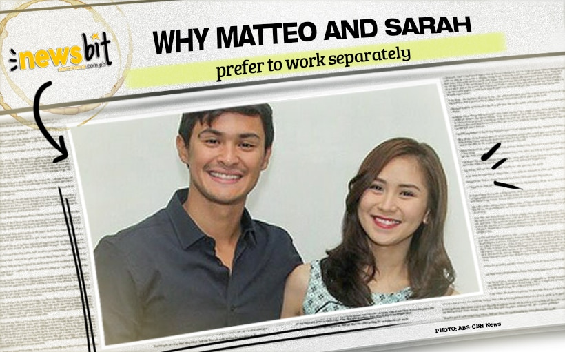 Why Matteo and Sarah prefer to work separately