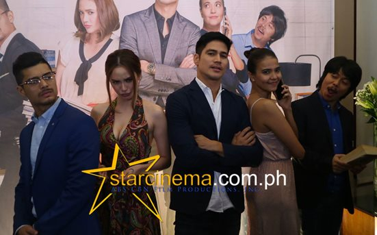 The gorgeous cast of 'Since I Found You' - Piolo, Arci, JC, Alessandra, and Empoy!