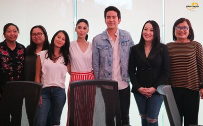 Here are first deets on the Kris-JoshLia movie!