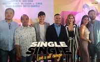 Matteo and Shaina lead 'Single/Single: Love is not enough' media con!