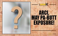 Arci, may pa-butt exposure!