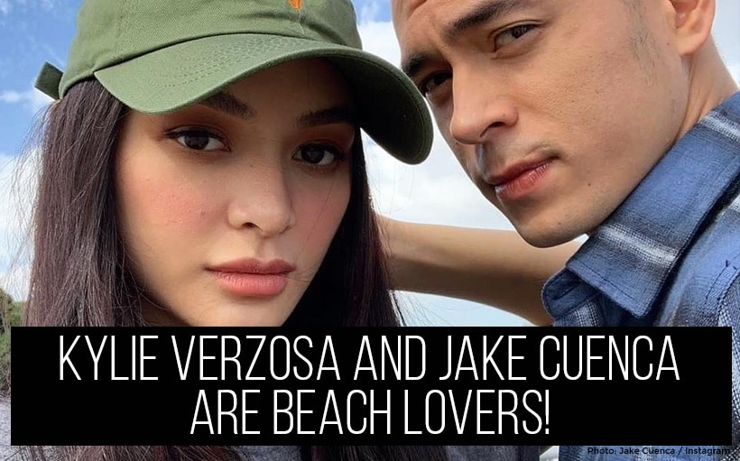 Kylie Verzosa and Jake Cuenca are beach lovers!