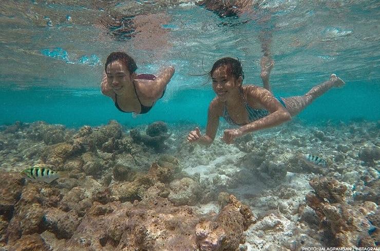 Explore the most beautiful beaches like Joj and Jai Agpangan