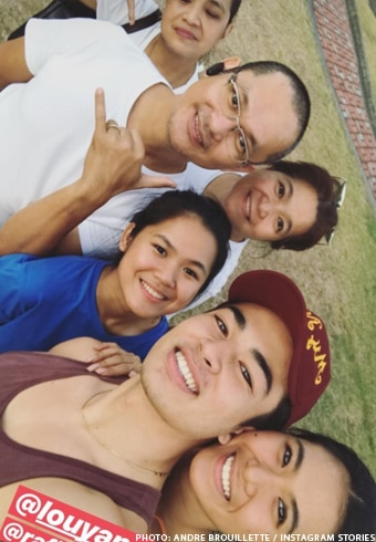 LouDre spend Holy Week together