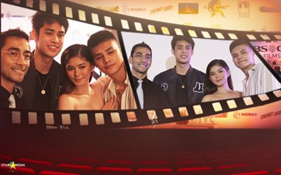 PHOTOS: 'James and Pat and Dave' + 'Quezon's Game' join forces for Cine Expo   Manila!