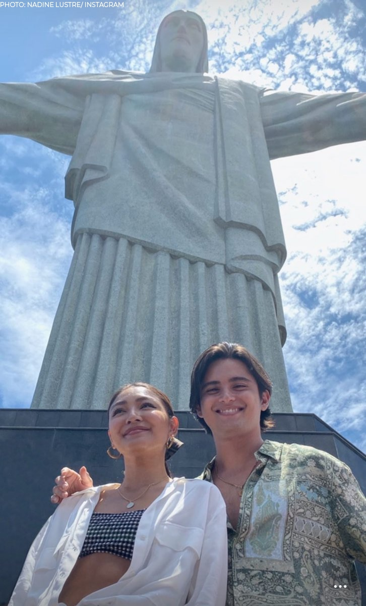 James Reid and Nadine Lustre in Rio