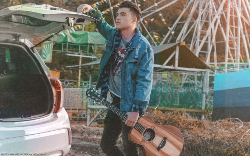 Markus Paterson serenades fans with a rendition of Moira's 'Tagpuan'