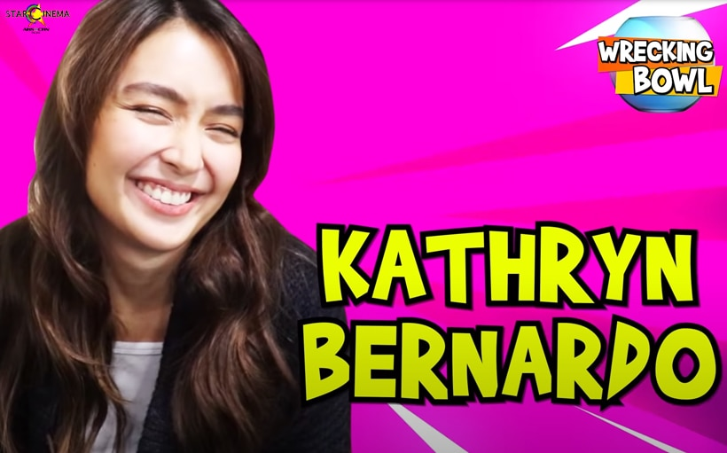 Kathryn Bernardo shows fun, witty side in new Wrecking Bowl episode!