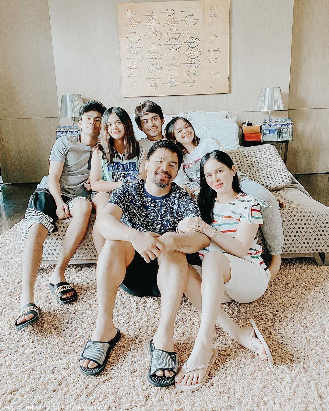 The beautiful Pacquiao siblings