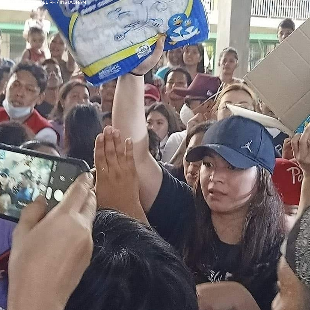 Angel's relief efforts for the victims of the Taal eruption last January