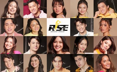 PHOTOS: Rise Artists shine in new photoshoot!