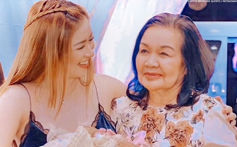 Angeline Quinto recalls dream she fulfilled with Mama Bob