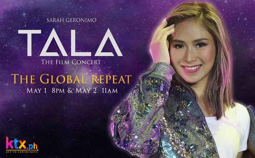 Sarah Geronimo's 'Tala' film concert to get a repeat on KTX