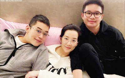 Kris Aquino to lessen social media posts to protect Josh and Bimby