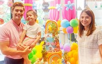 LOOK: JC de Vera throws intimate birthday party for daughter