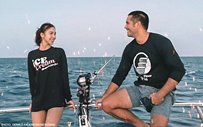 LOOK: Gerald shares more photos of his fishing trip with Julia