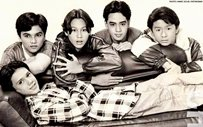 THROWBACK: John Lloyd, Patrick, Baron, Marc, and Kristopher from the 1998 film 'Nagbibinata'!