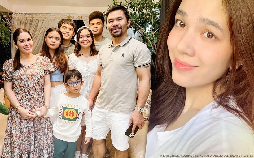 Arabella Del Rosario, approved sa Pacquiao family