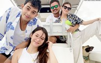 LOOK: Barbie Imperial, Diego Loyzaga go on a trip with Angelica Panganiban and Gregg Homan