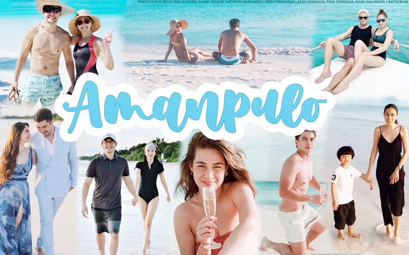 17 celebrities and their breathtaking Amanpulo photos